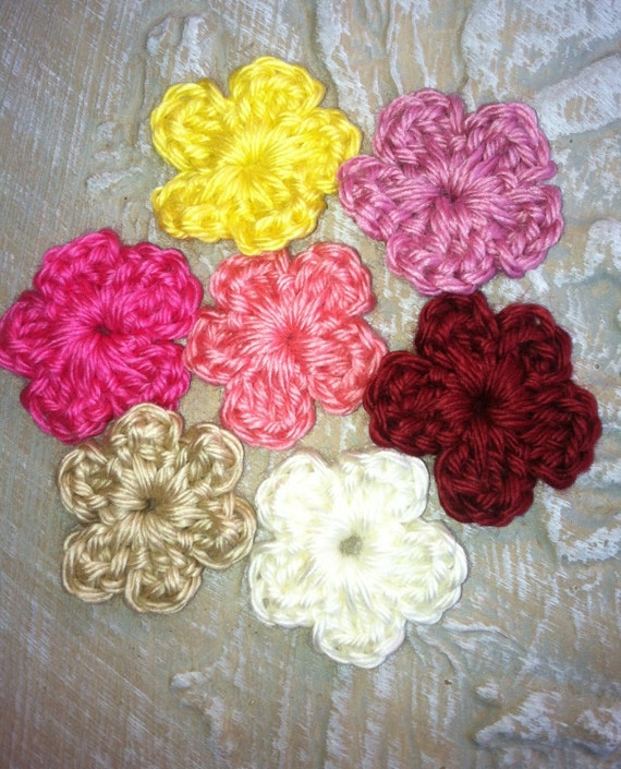 Embellishments, Supplies, .....Little Flowers in groups of 4