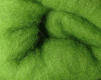 2 oz C-1 Needle Felting Wool Kiwi