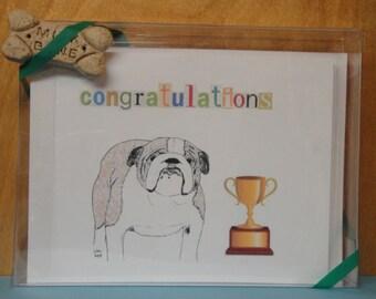 Bulldog All Occasion Card Set