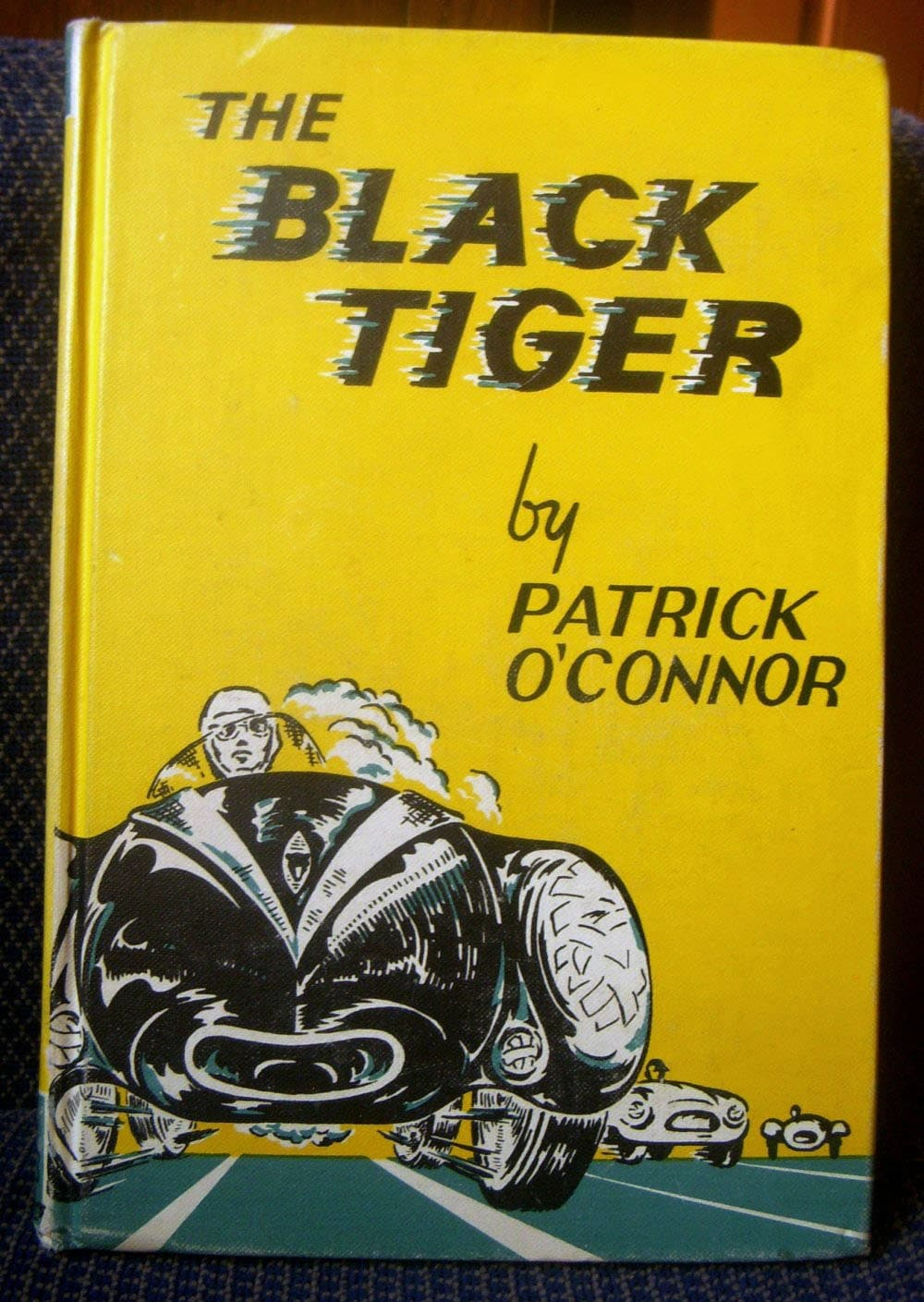 the black tiger series book patrick o 39 connor vintage. Black Bedroom Furniture Sets. Home Design Ideas