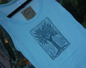 printed-by-hand TREE OF LIFE tank, M
