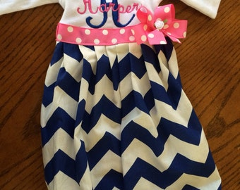 Boutique day gown or dress NB- 24 month