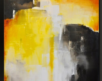 Triumph - 30 x 24 - Abstract Acrylic Painting- Contemporary Modern Wall Art