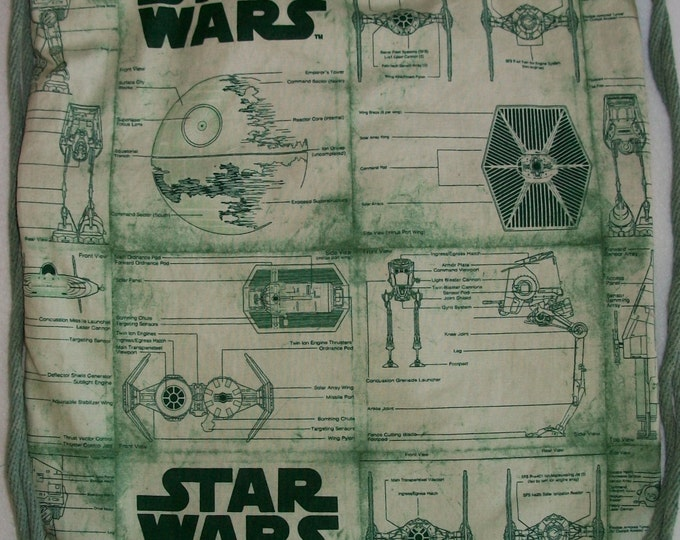 Star Wars Green Prints: Backpack/tote