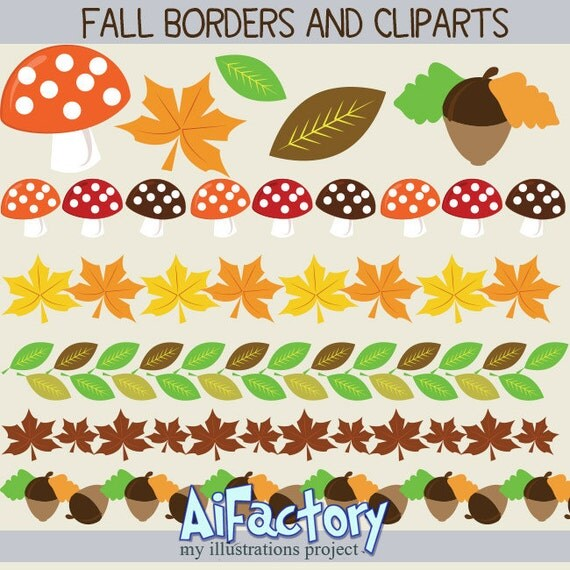 Fall Border Illustrations Fall Borders And Clip Art '