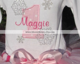 Winter Wonderland Personalized Birthday Shirt
