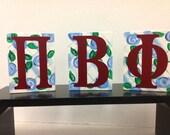 Pi Beta Phi Shelf Sitters wall decor