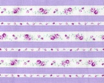 Petit Fleur Cotton Fabric Tiny Rose Ticking by Lecien 30173-110