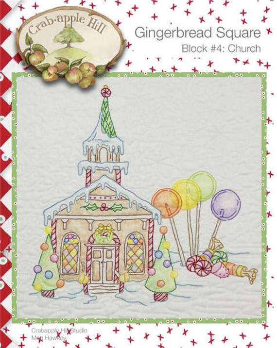 Gingerbread House Quilt Pattern Free : Crabapple Hill Quilt Pattern Hand Embroidery Gingerbread