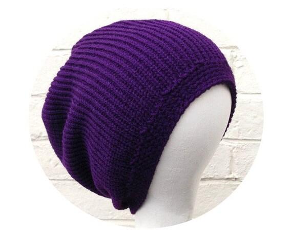 Plain dreadlock tam for short-medium dreads, custom made in any colour.