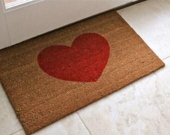 Valentine Heart Doormat