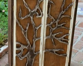 Handmade Furniture - Wooden Cabinet - Kitchen Storage - Bathroom - Home Decor - Entryway - Living Room - Tree Doors - 30 x 22 x 5.5