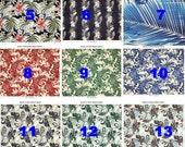 Men's Rayon Hawaiian Aloha Shirt Handmade 16 fabrics to choose from  Sm, Med, Lg, XL