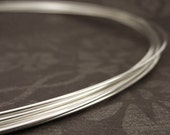 1/4 Troy Ounce HH or DS - Argentium Sterling Silver Wire - Half Hard or Dead Soft - Non Tarnish  - You Pick Gauge -  Made in the USA