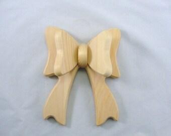 Wooden bow 3 dimensional DIY