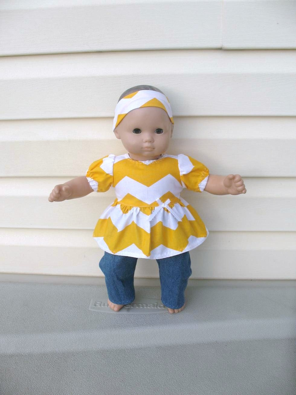 Doll Clothes For American Girl Bitty Baby Or Bitty Twin Dolls
