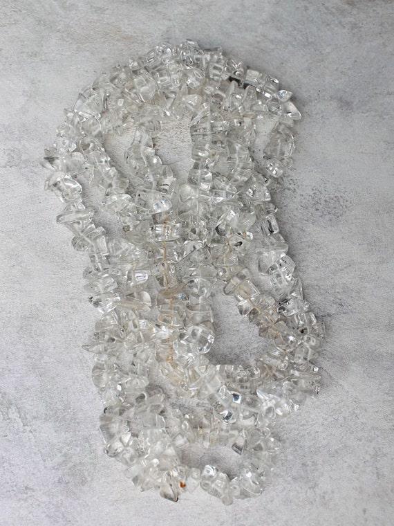 Clear Crystal Chips, Destash Bargain Beads, Craft Supplies ...