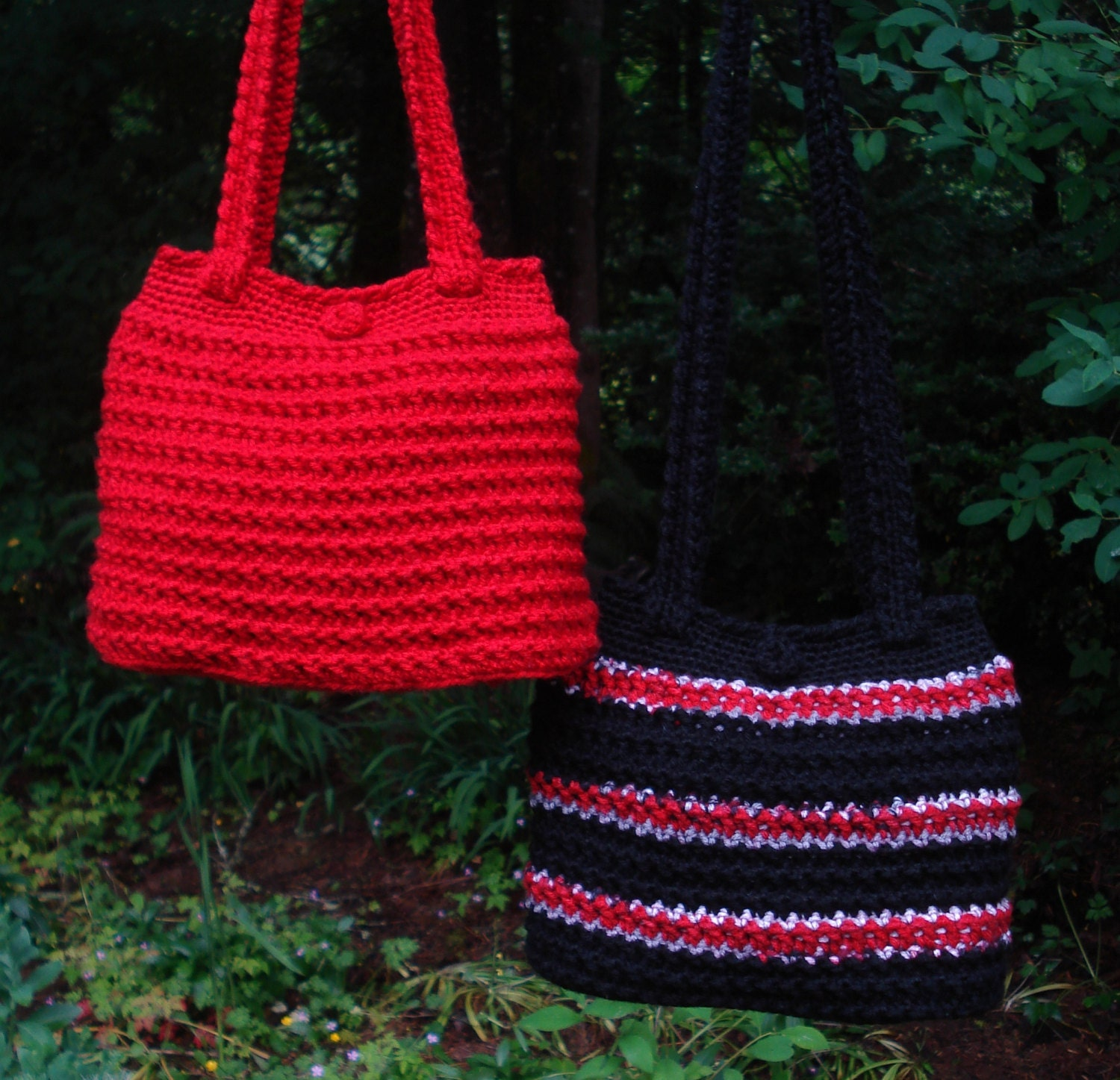 Crochet Easter Bag Pattern : Crochet Pattern PDF Everyday Bags PA-203