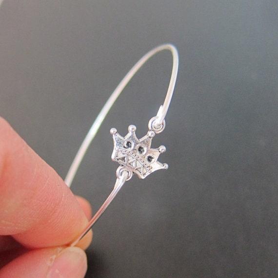 Crown Charm Bracelet: Crown Bracelet Crown Jewelry Princess Bracelet Princess