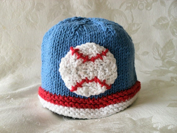 Knitted Hat Pattern Baby Hat Pattern Newborn Hat Pattern Infant Hat Pattern B...