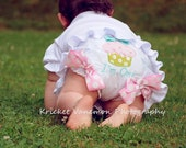 Cupcake 1st Birthday Bloomers Diaper Cover Personalized I'm one