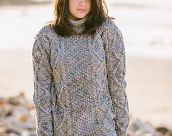 Diamond Cable Madison Pullover Knitting Pattern
