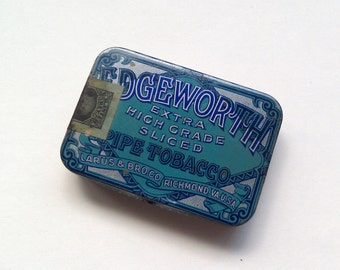 Vintage Edgeworth Extra High Grade Pipe Tobacco Tin