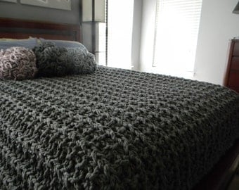 Giant Super Chunky Knit Blanket pattern - Pattern Only - permission to sell what you make