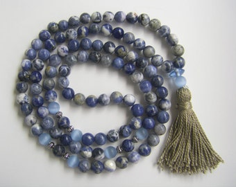 Sodalite Mala necklace