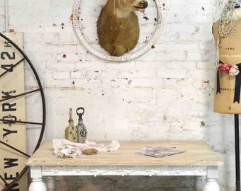 Painted Cottage Chic Shabby French Coffee Table CFT18