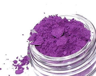 Matte Purple Eyeshadow POE Mineral Makeup