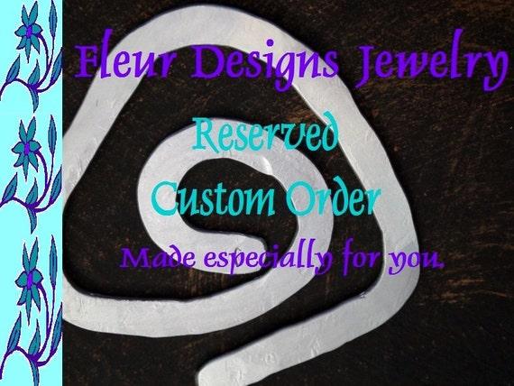 Reserved Custom Listing for Bettina