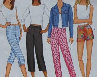 Pants and Shorts Sewing Pattern UNCUT Butterick 6946 Sizes 6-10