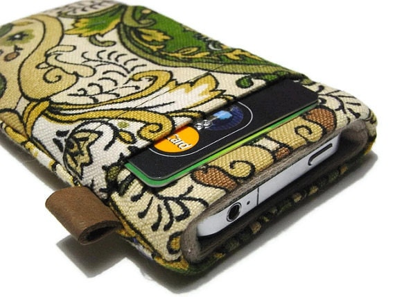 iphone 6 Case / iphone Cover / ipod Touch / Liberty Fabric Sleeve