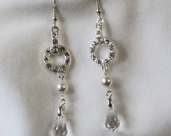 Swarovski Clear Crystal Bridal Earrings