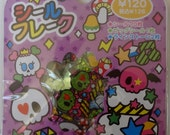 Kawaii Skulls Sticker Sack