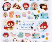 San-X Kireizukin Seikatu Sticker Sheet