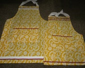 You Are My Sunshine Yellow Mommy & Me Apron Set