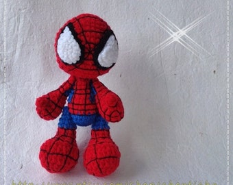 Spider 6 inches - PDF amigurumi crochet pattern