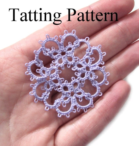 Pdf Four Original Tatting Patterns Pack A Instant