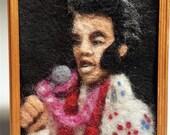 Felted Elvis