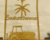 SASKATCHEWAN CANADIAN PROVINCE Scroll Saw Plaque
