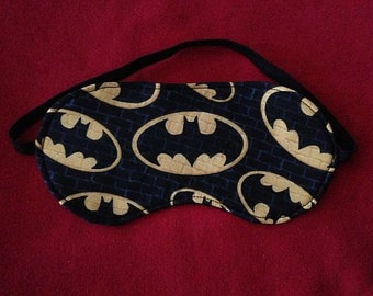 New BATMAN SLEEP MASK Eye Face Sleepwear Bedroom Clothes