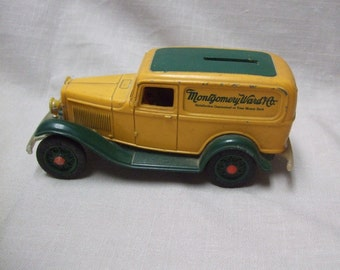 Vintage Montgomery Ward Co Ford Bank by ERTL