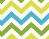 Mixed Bag by Studio M for Moda Fabrics, Zig Zag Sweet Pea, 1/2 yard