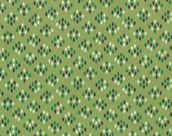 Color Me Happy from V and Co and Moda fabrics, Cluster Drops Light Green, 1/2 yard total