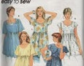 Misses Tops Sewing Pattern Simplicity 8980