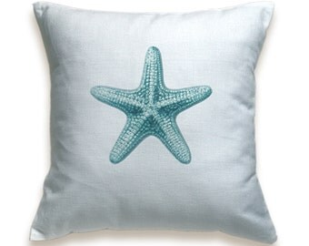Starfish Cotton Pillow Cover 16 inch PRINT DESIGN 06