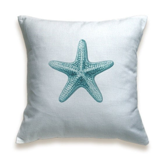 Starfish Cotton Pillow Cover 16 inch PRINT DESIGN 06