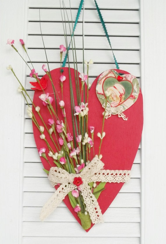 DIY Valentine's Day Gift Idea - Personalized Handmade Name ... |Valentine Hand Painted Wood Signs